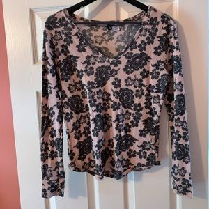 NWOT BDG Floral Long Sleeve